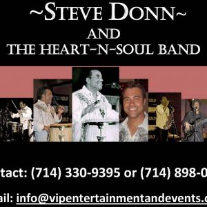 Steve Donn & The Heart-N-Soul Band Live Performance CD - Multiple songs